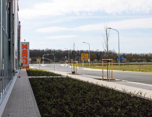 Erschließung Dienstleistungsbereich am ICE-Bahnhof